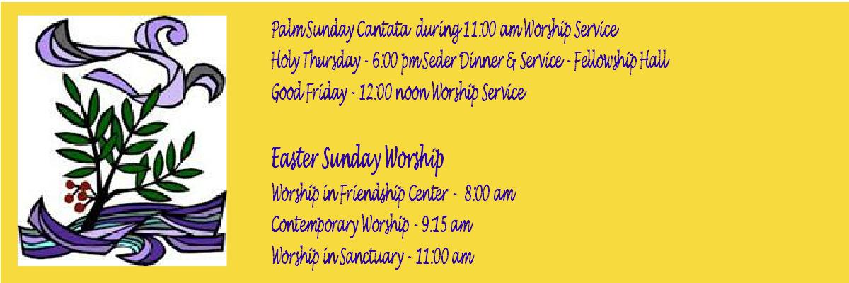 Lenten Services